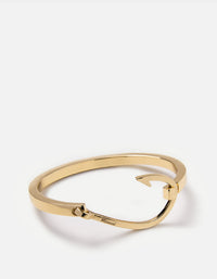 Miansai - Hooked Cuff, Gold Plated