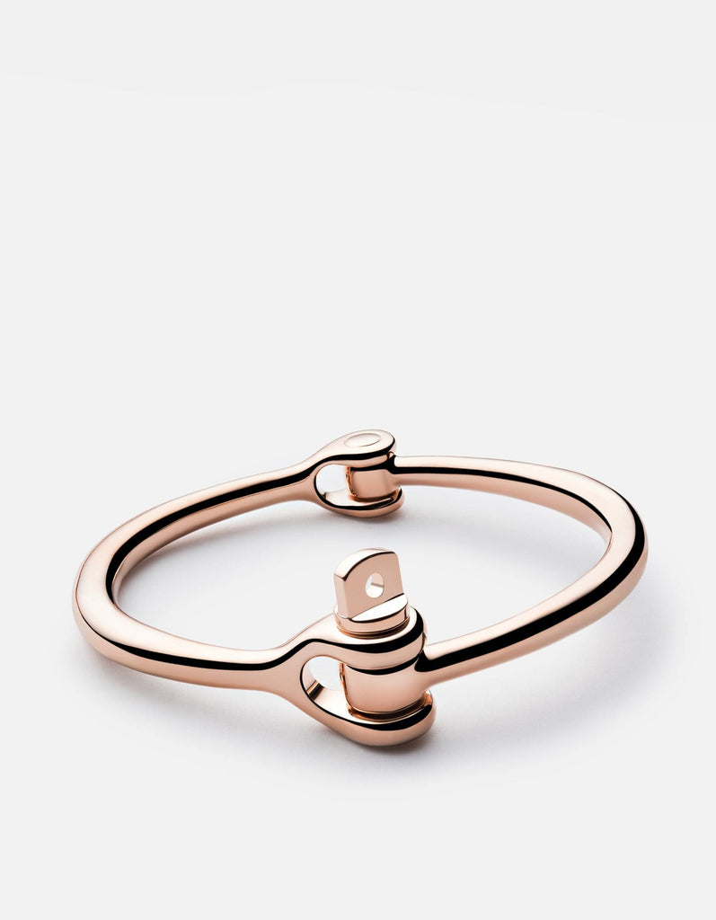 Reeve Cuff, Rose Plated