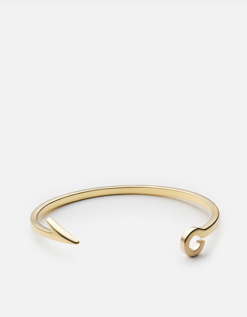 Miansai - Fish Hook Cuff, Brass
