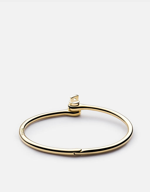 Thin Reeve Cuff Bracelet, Gold | Women's Cuffs | Miansai