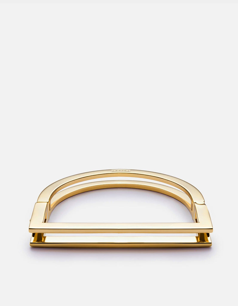 Miansai - Square Bar Cuff, Gold