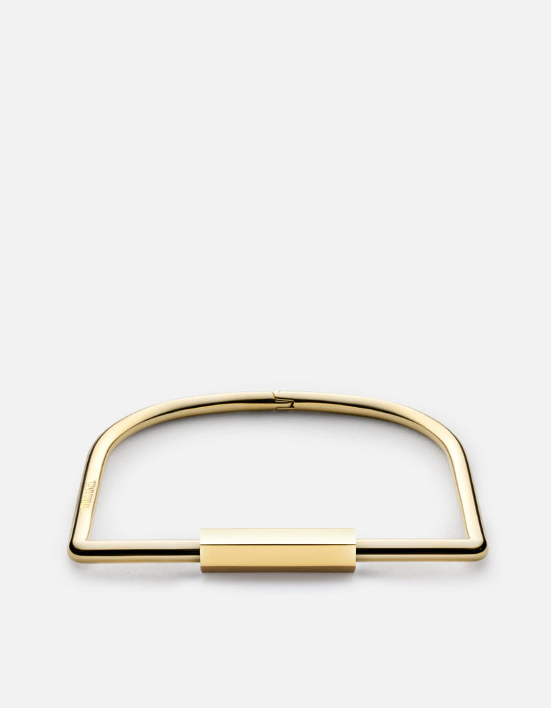Bare Cuff Bracelet, Gold Plated | Women's Cuffs | Miansai