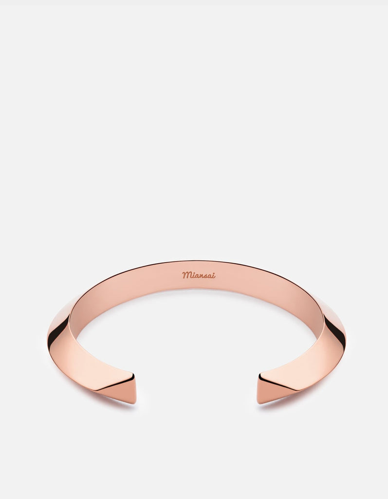 Bell Cuff Bracelet, Rose Plated | Women's Cuffs | Miansai
