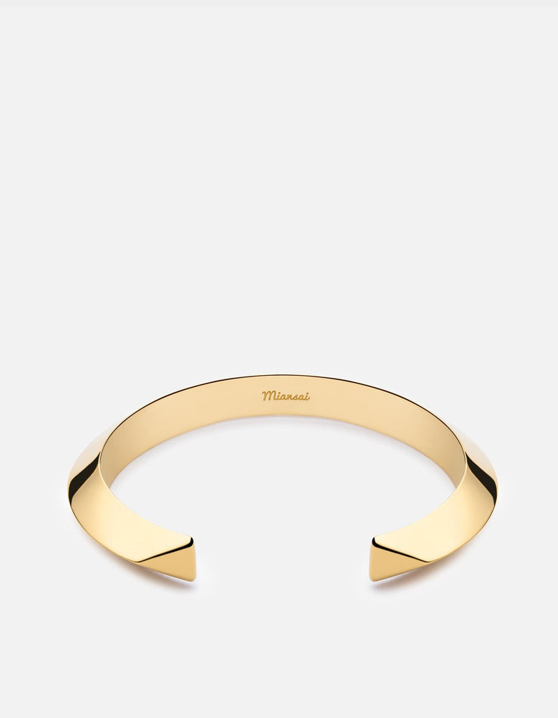 Bell Cuff Bracelet, Gold Plated | Women's Cuffs | Miansai