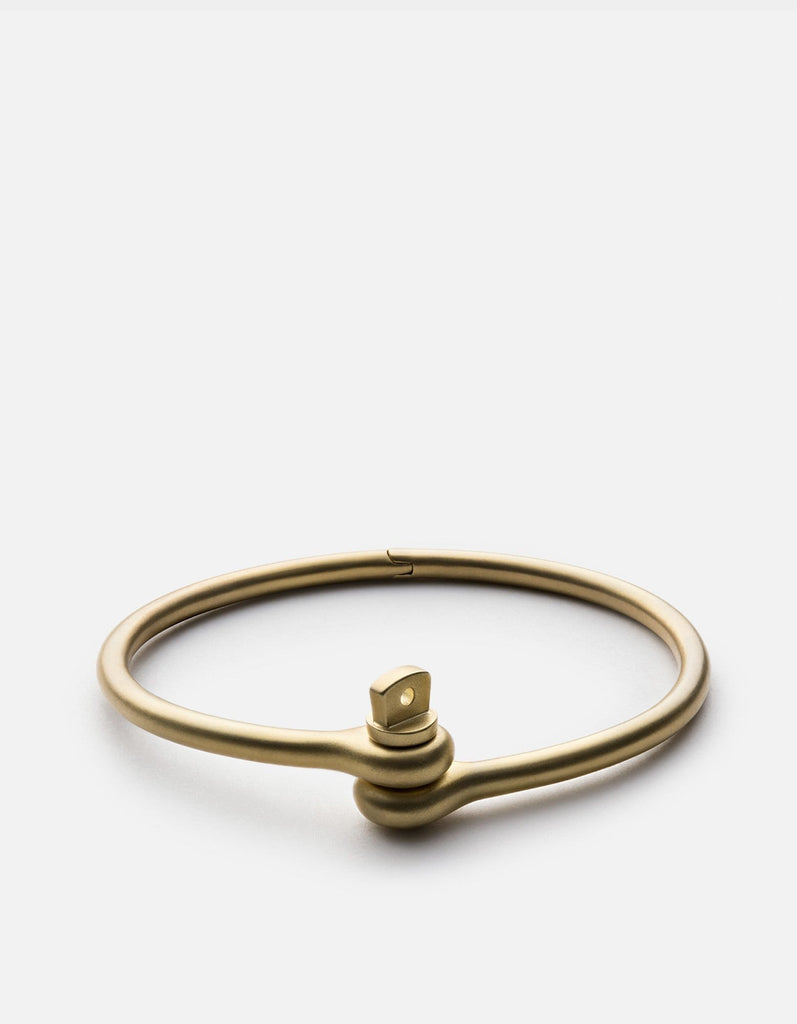Thin Reeve Cuff, Matte Brass | Men's Cuffs | Miansai