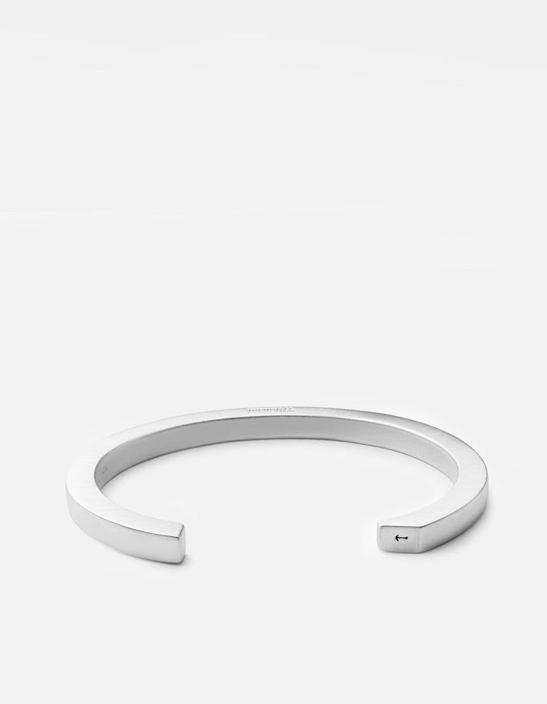 Miansai - Ipsum Cuff, Sterling Silver, Brushed