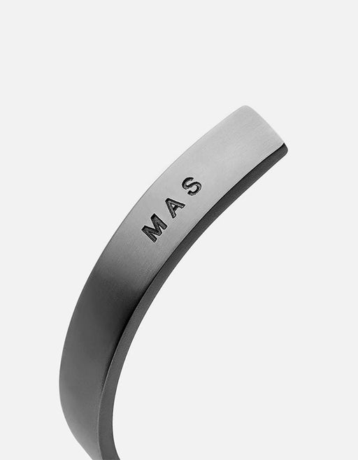 Miansai - Label Cuff, Matte Black
