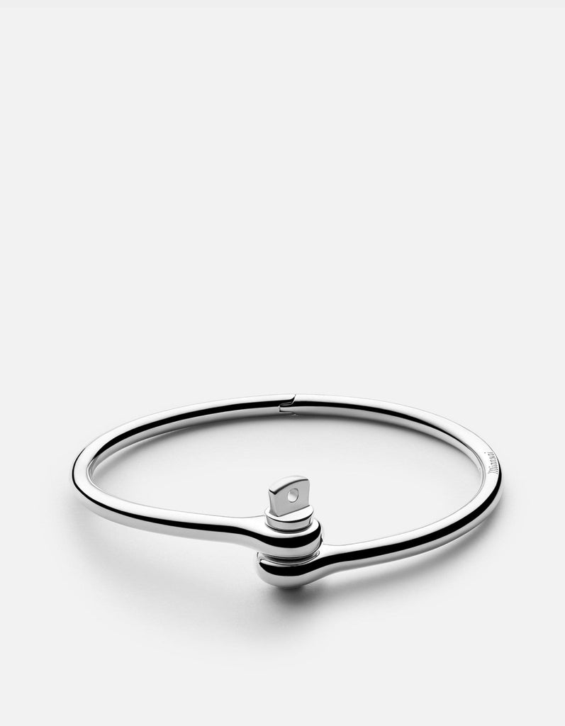 Thin Reeve Cuff, Sterling Silver | Men's Cuffs | Miansai