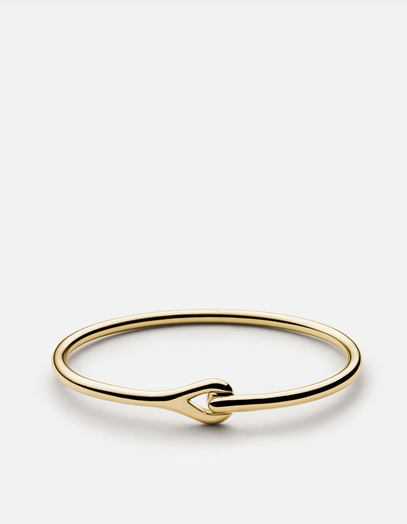 Neo Cuff, Gold Vermeil, Polished | Cuffs | Miansai