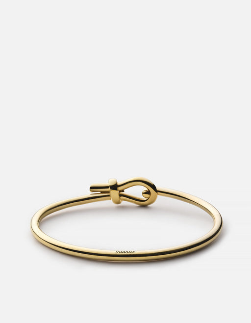 Miansai - Union Cuff, Gold Vermeil