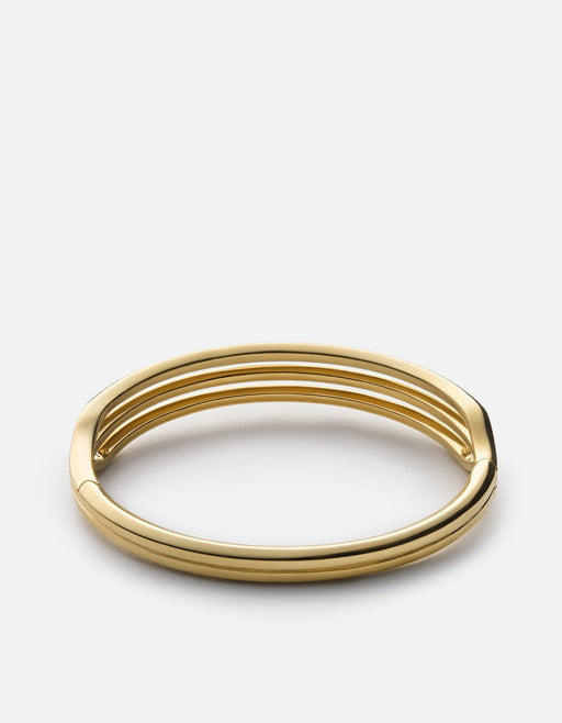 Trade Cuff, Gold Plated, Polished | Women's Cuffs | Miansai