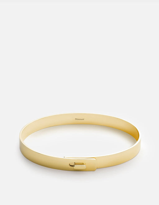 Standard Cuff, Gold Vermeil | Men's Cuffs | Miansai