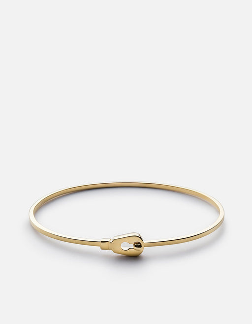 Thin Centra Cuff, Gold Vermeil, Polished | Women's Cuffs | Miansai