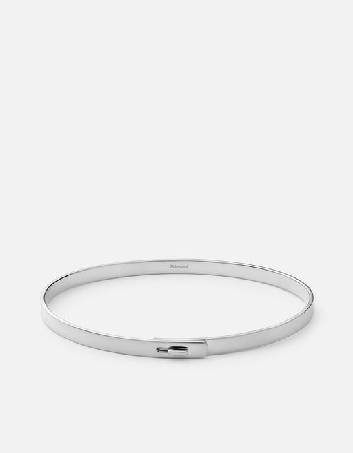 Thin Standard Cuff, Sterling Silver, Polished | Men's Cuffs | Miansai