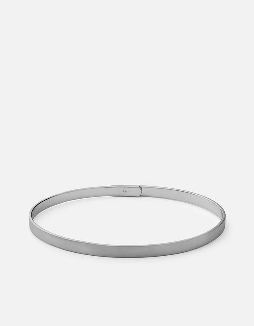 Miansai - Thin Standard Cuff, Matte Black Rhodium