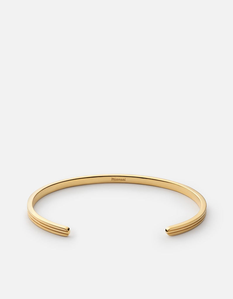 Stag Cuff, 14k Gold | Men's Cuffs | Miansai