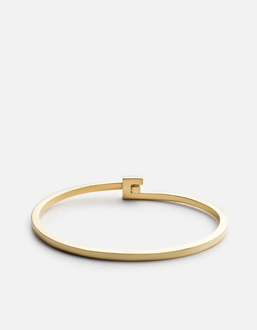 Cubist Cuff, Gold Vermeil | Men's Cuffs | Miansai