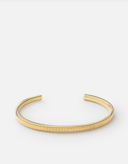 Thread Cuff, 14k Gold, Polished | Men's Cuffs | Miansai