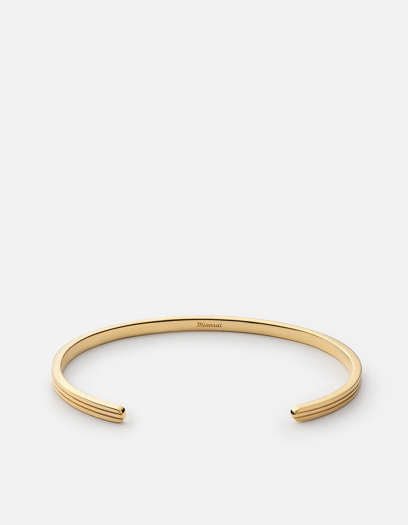 Stag Cuff, Gold Plated, Polished | Women's Cuffs | Miansai