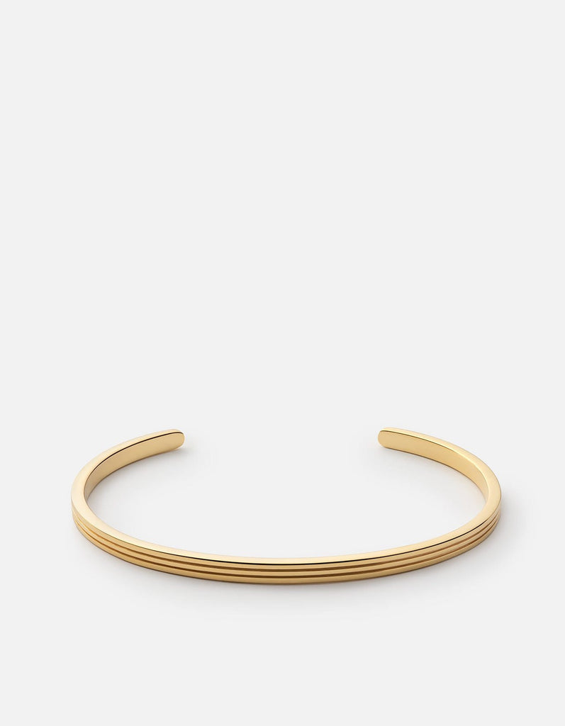 Stag Cuff, Gold Plated, Polished | Men's Cuffs | Miansai