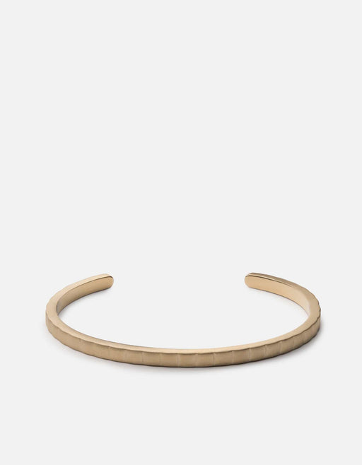 Etch Cuff, Matte Gold | Men's Cuffs | Miansai