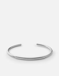ID Cuff, Sterling Silver, Polished | Men's Cuffs | Miansai