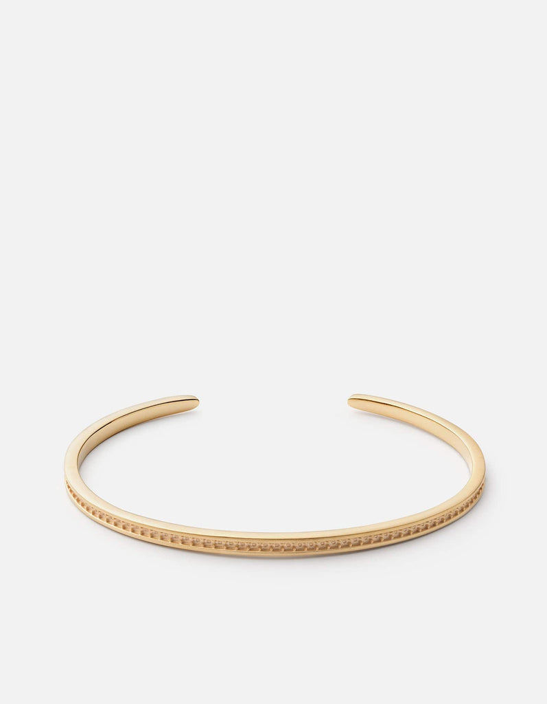 Miansai - Set Cuff, Gold Plated