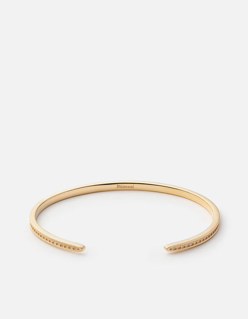 Set Cuff, Gold Plated | Men's Cuffs | Miansai
