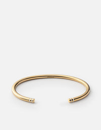 Aire Cuff, Gold Vermeil w/Enamel, Off-White, Polished | Women's Cuffs | Miansai