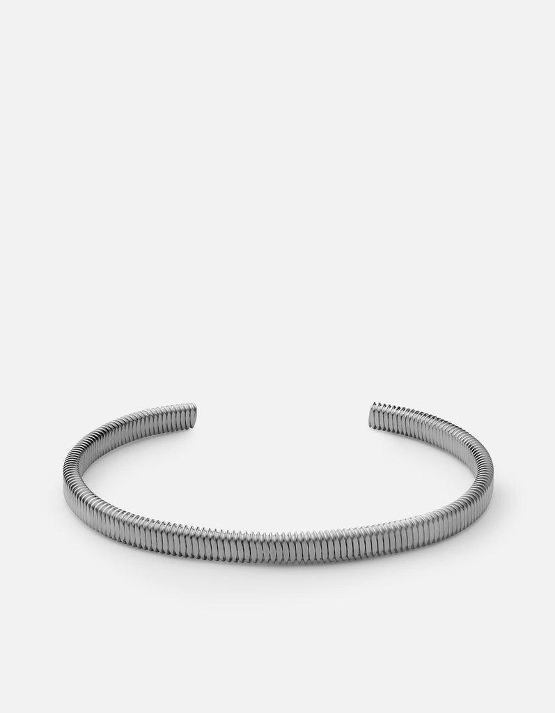 Thread Cuff, Matte Black Rhodium Plated | Men's Cuffs | Miansai