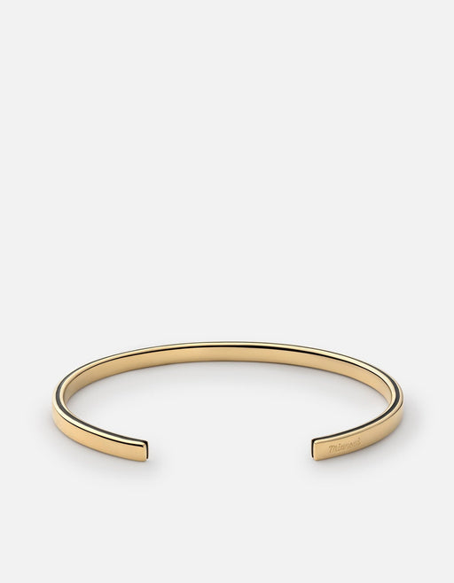 Ridge Cuff,  Gold Plated, Polished Gold - Miansai