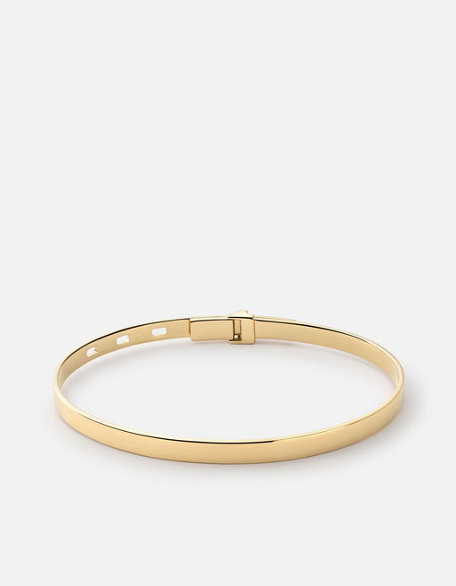 Tailor Cuff, Gold Vermeil, Polished Gold - Miansai