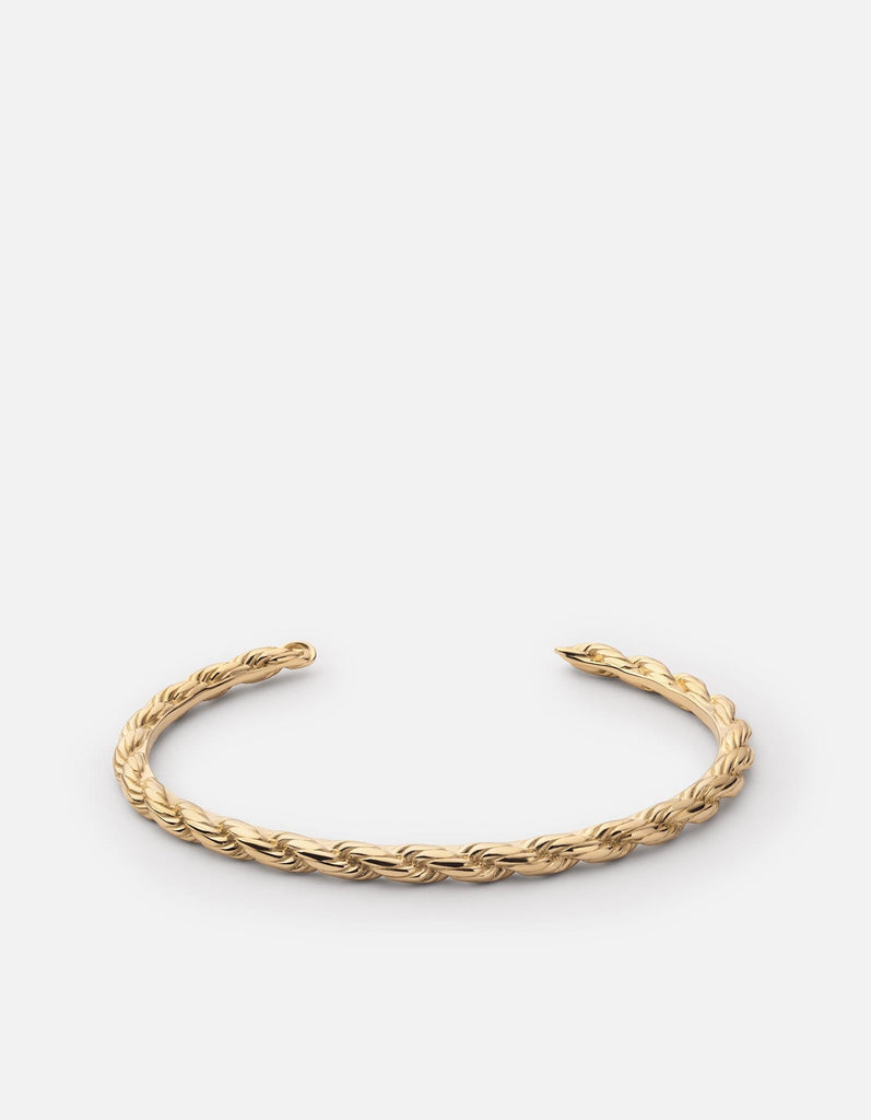 Rope Chain Cuff, Gold Vermeil - Miansai