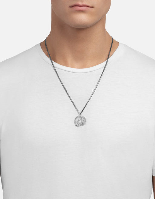 Saints Necklace, Sterling Silver, Matte | Men's Necklaces | Miansai