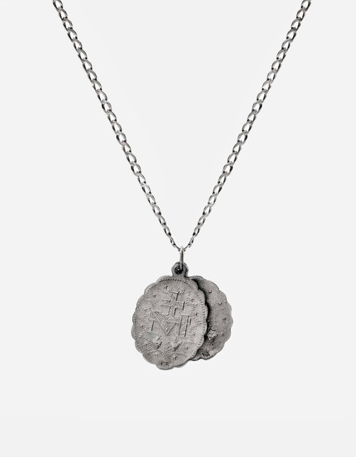 Miansai - Saints Necklace, Matte Sterling Silver