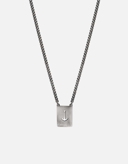 Miansai - Anchor Scap Necklace, Sterling Silver