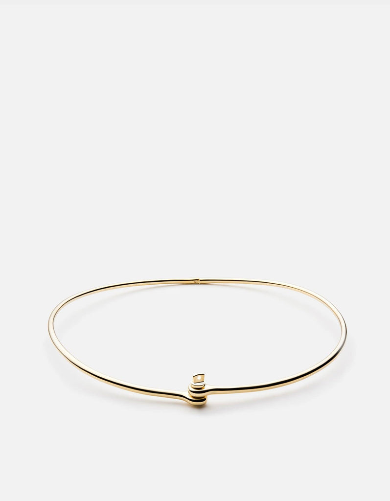 Thin Reeve Choker, Gold Plated | Women's Necklaces | Miansai