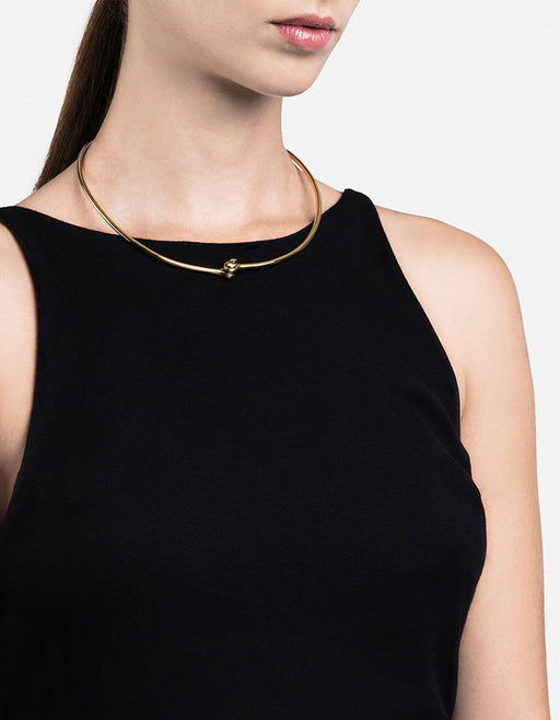 Miansai - Thin Reeve Choker, Gold