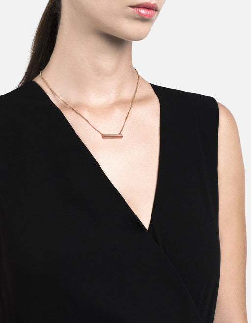 Miansai - I-Beam Necklace, Rose