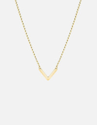 Miansai - Mini Angular Necklace, Gold Vermeil