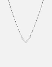Miansai - Mini Angular Necklace, Sterling Silver