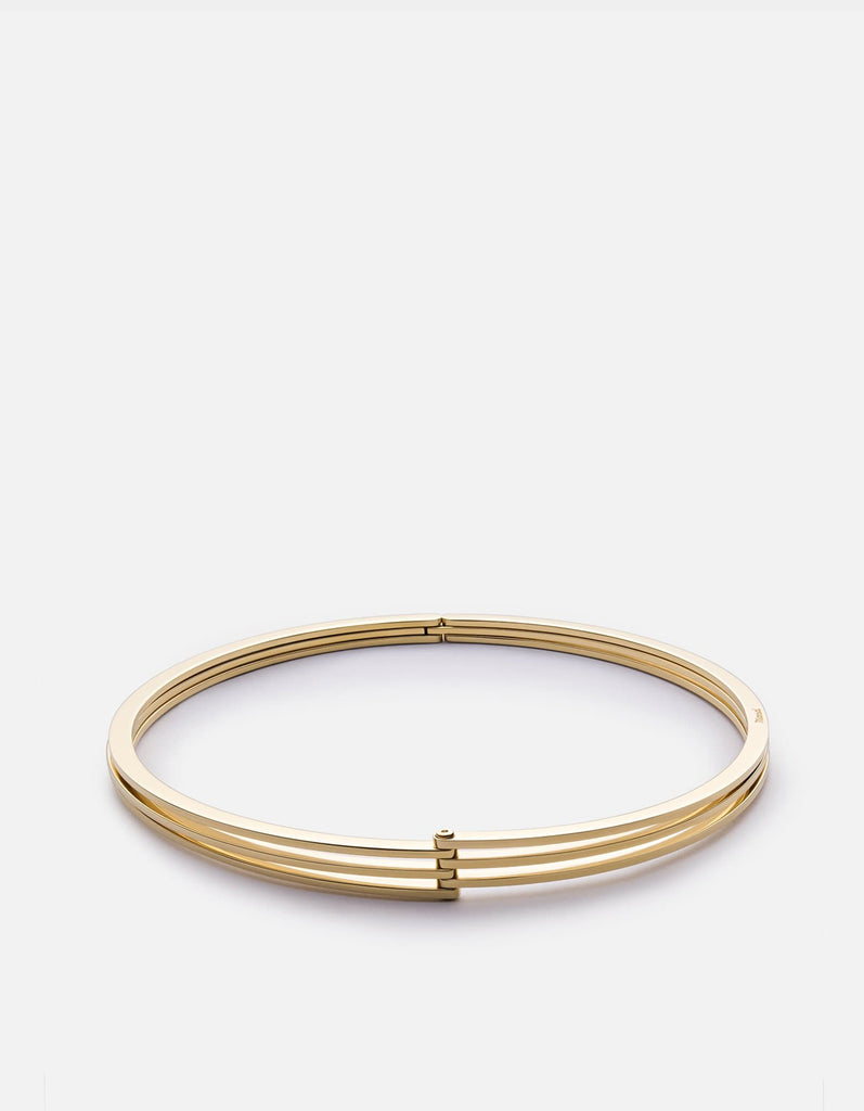 Offset Choker, Gold Plated, Polished | Women's Necklaces | Miansai