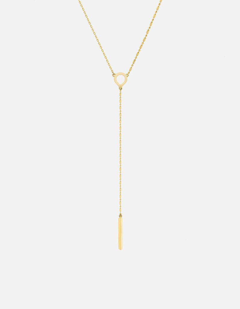 Teardrop Necklace, Gold Vermeil | Women's Necklaces | Miansai