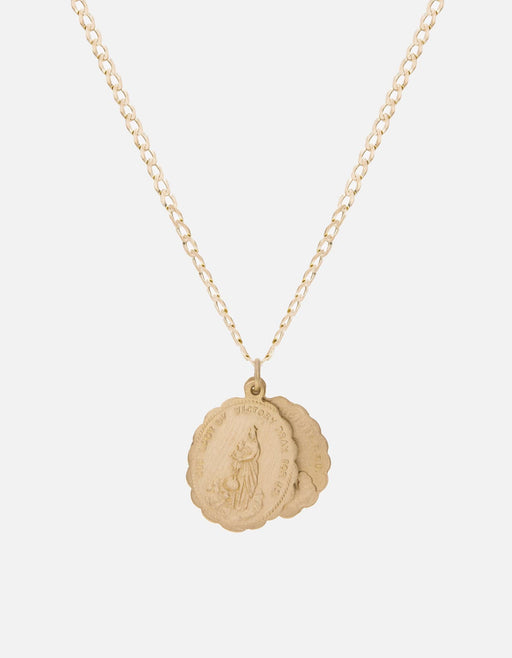 Miansai - Saints Necklace, 14k Matte Gold