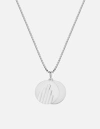 Miansai - Deco Pendant Necklace, Sterling Silver