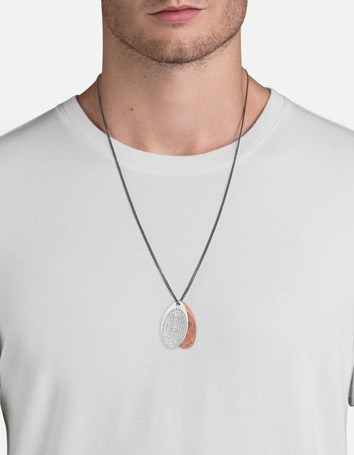Silver Penny Chain Necklace, NYC Sewer | Men's Necklaces | Miansai