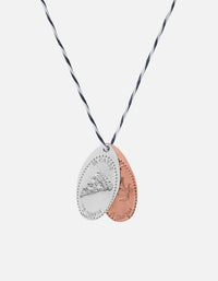 Silver Penny Cord Necklace, In Carbs We Trust | Men's Necklaces | Miansai