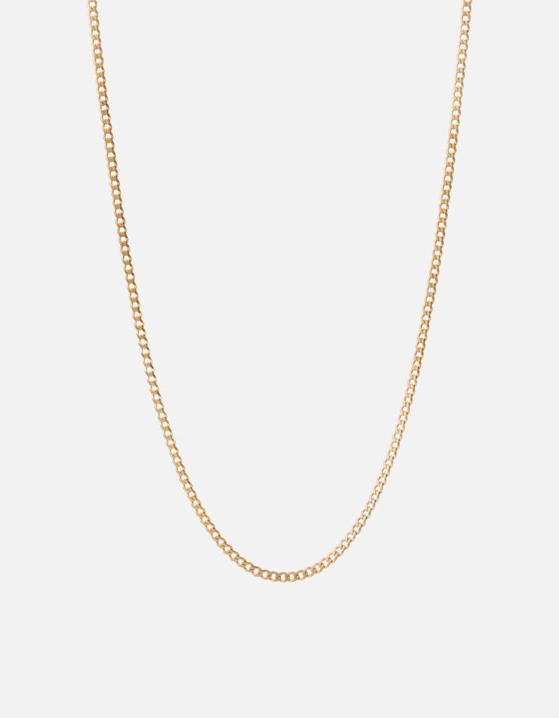 Miansai - 3mm Chain Necklace, 14k Gold
