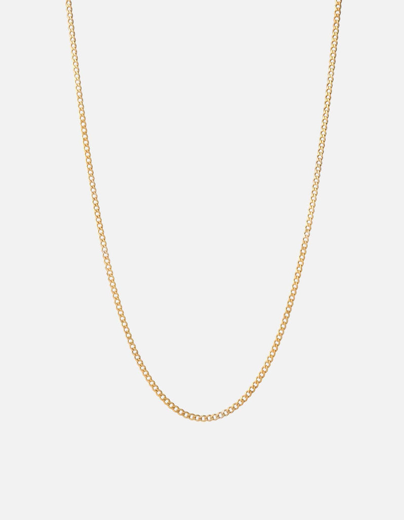 3mm Chain Necklace, Gold | Men's Necklaces | Miansai