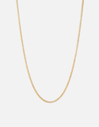 Miansai - 3mm Cuban Chain Necklace, Gold